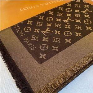 🔥HP🔥Louis Vuitton Shine shawl Mono